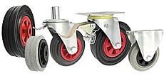 koła wózki transportowe