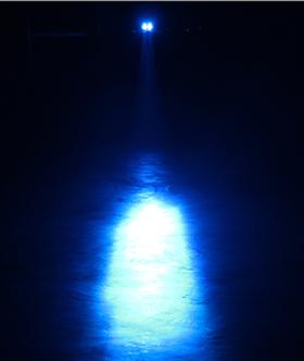 blue led spot