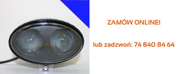 lampa blue led spot